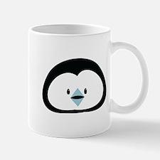 Cute little Penguin face Mugs