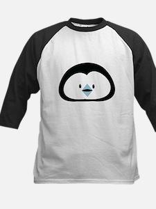 Cute little Penguin face Baseball Jersey
