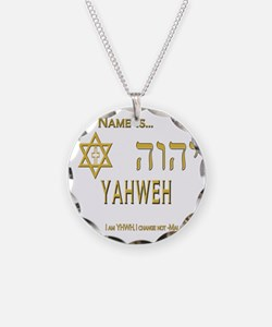 YHWH Shirt 2 Necklace