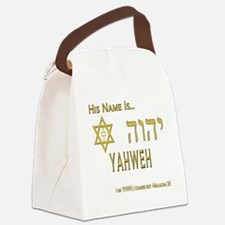 YHWH Shirt 2 Canvas Lunch Bag