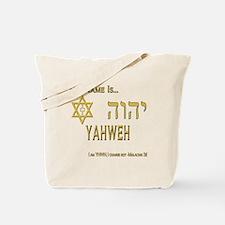 YHWH Shirt 2 Tote Bag