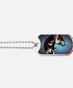 Feathered Paint Horse-Yardsign Dog Tags