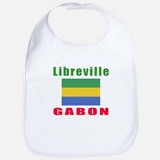 Libreville Gabon Designs Bib