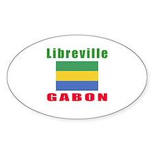 Libreville Gabon Designs Decal