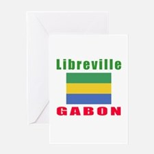 Libreville Gabon Designs Greeting Card