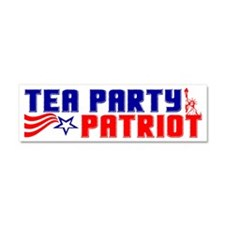patriotbumpercafe2 Car Magnet 10 x 3
