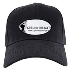 DebunkWideBW Baseball Hat