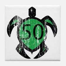 50turtle Tile Coaster