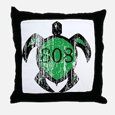 808turtle Throw Pillow