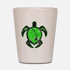 greenhiislandturtle4-1-082 Shot Glass