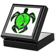 greenhiislandturtle4-1-082 Keepsake Box