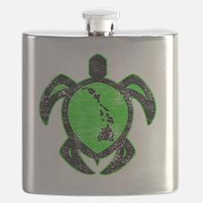 greenhiislandturtle4-1-082 Flask