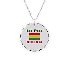 La Paz Bolivia Designs Necklace
