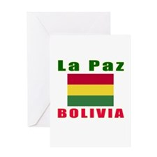 La Paz Bolivia Designs Greeting Card