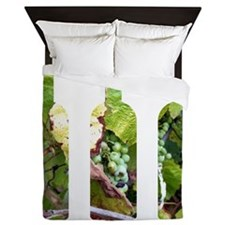 winebottles Queen Duvet