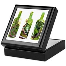 winebottles Keepsake Box