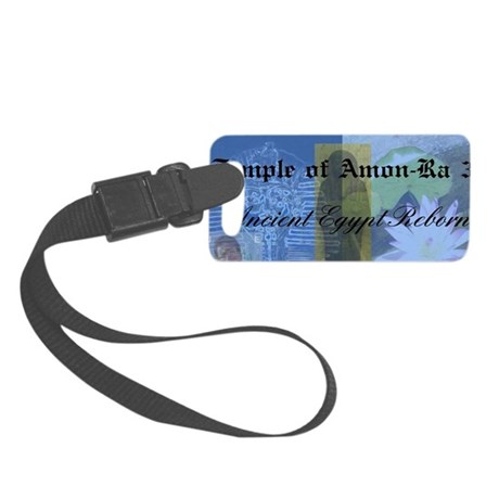 Temple of AmonRa 3a Small Luggage Tag