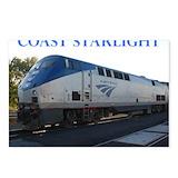 Amtrak train Postcards