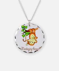 2-JustMonkeyingAround Necklace
