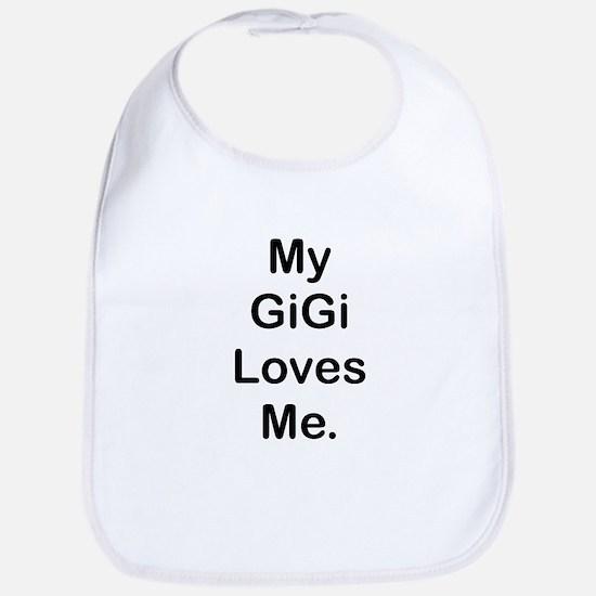 MY GiGi LOVES ME Bib