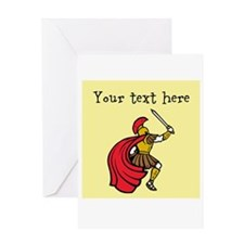 Customizable Santa and Gifts Greeting Cards