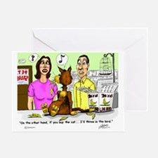 pet shop Greeting Card