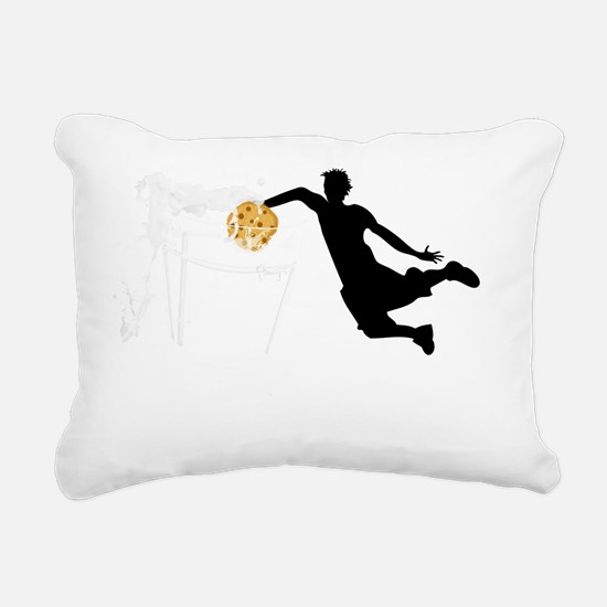 dunk_lt color Rectangular Canvas Pillow