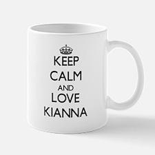 Keep Calm and Love Kianna Mugs