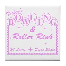 2-TooleysRollerRink Tile Coaster