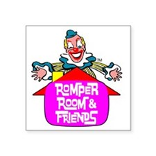 "combined-rr-and-friends2.gi Square Sticker 3"" x 3"""