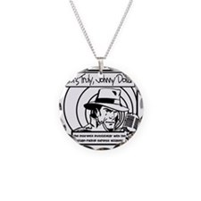 Yours Truly Johnny Dollar BW Necklace