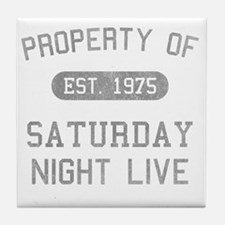 propertyofsaturdaynightlive-vintagebl Tile Coaster