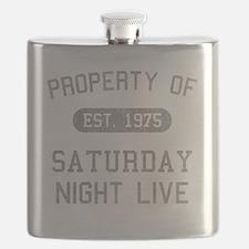 propertyofsaturdaynightlive-vintageblack Flask