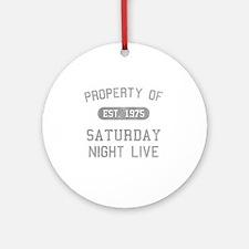 propertyofsaturdaynightlive-vintage Round Ornament