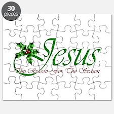 Jesus Reason For The Season Puzzle