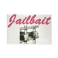 JAILBAIT Rectangle Magnet