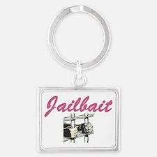 JAILBAIT Landscape Keychain