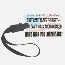 MORE JOBS Luggage Tag