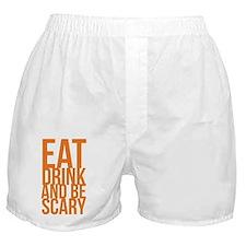eatdrinkscary Boxer Shorts