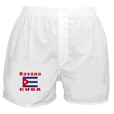 Havana Cuba Designs Boxer Shorts