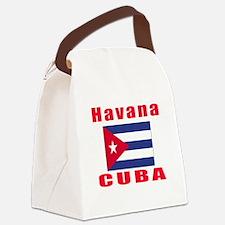 Havana Cuba Designs Canvas Lunch Bag