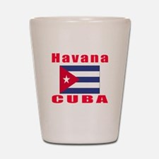 Havana Cuba Designs Shot Glass