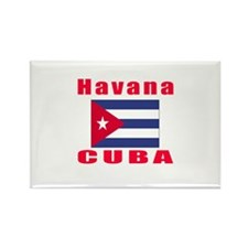 Havana Cuba Designs Rectangle Magnet