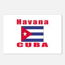 Havana Cuba Designs Postcards (Package of 8)
