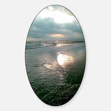 Bali dusk Sticker (Oval)