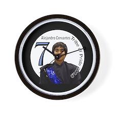 alejandrocervantes-btn Wall Clock