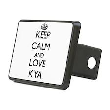 Keep Calm and Love Kya Hitch Cover