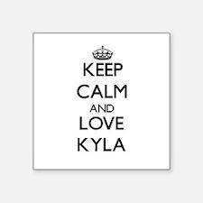 Keep Calm and Love Kyla Sticker