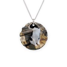 blackandwhitecatonsteps Necklace