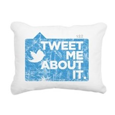 tweetmeaboutit Rectangular Canvas Pillow